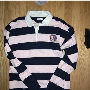 Aritzia rugby shirt
